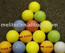 2 PC driving range golf ball, soft cover, high rebounce