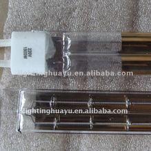 quartz Twin Tube infrared heat lamp