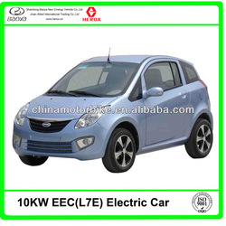 Electric car BY-02 with EEC L7e 10KW 96V 150AH