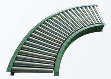 R-TCN STEEL curve roller conveyor,tapered roller