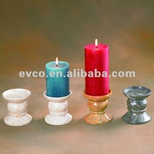 Geunine Marble Candle Holders
