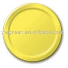 disposable colorful paper plate for party/paper party plates