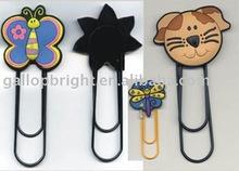 PVC charm bookmarks