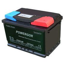 12V70AH JIS Standard MF Lead Acid Auto Battery