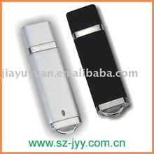 simple design rectangle usb flash drive 2.0, 1GB/2GB/4GB/8GB,plastic usb,sample available