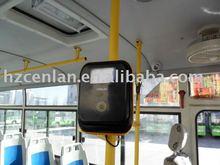 Bus smart card reader in public transportion system