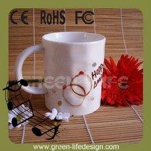 Porcelain electronic recordable Mug