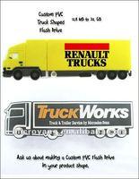 Custom pvc truck shape usb flash driveTruck Shape USB Flash Drive Memory Stick