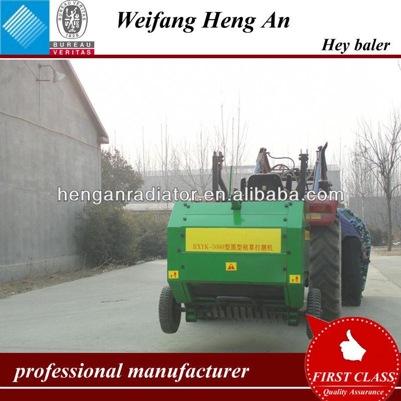Petit hydraulique ronde presse à balles utilisation tracteur prise de force de puissance