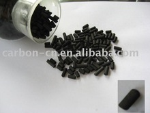 4mm cylindrical activated carbon charcoal filtration