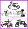 2013 New Design All In One MOTOCROSS 125CC NEW PIT BIKE Dirt Bike ATV Quad