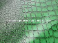 crocodile embossed fabric