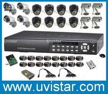 free shipping 16CH H.264 DVR 1TB 16 Sharp CCD Camera CCTV Security System