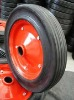 "Cart Wheel Solid Rubber Tires 8"" 10"" 12"" 13"" 14"" 15"" 16"""