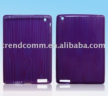 TPU case for apple ipad 2 transparent fringe