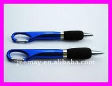 aluminum ball pen promotional carabiner ballpoint pen