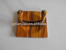 Acacia Wood Herb Chopper with Board Set