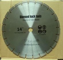 For marble cutting diamond saw blade