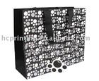 women luxury paper shopping bag