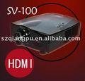 Led projetores com HDMI - VCD / DVD / PC / DVB-T