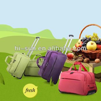 travel rolling duffel trolley bag