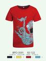 Glo- Geschichte 100% baumwolle rundhals Farbkombination hanf t- shirt