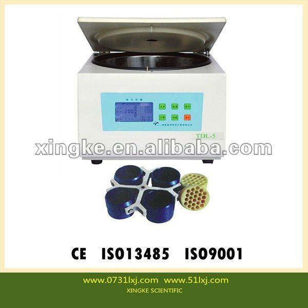 Table basse vitesse tdl-5 médicaux centrifugeuse hématocrite micro