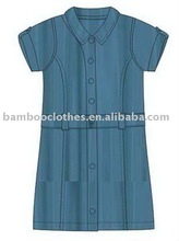 bamboo girl's denim dress