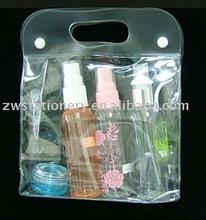 vinyl pvc gift bag with handle