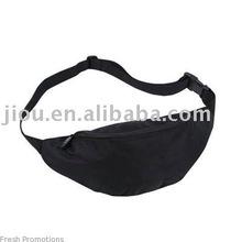 Black cheap price of waist bag hip bag