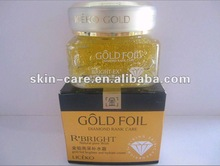 Liceko New products gold foil series gold foil moisturizing and whitenning face cream