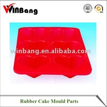 rubber cake mould parts
