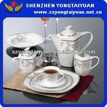 121pcs porcelain dinner set&crockery