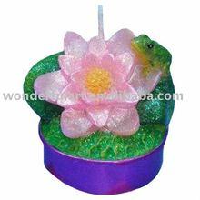 Mini Pot Flower Paraffin Candle Wax Tea Light