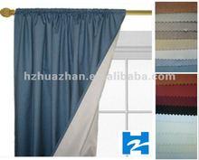 100%blackout curtain fabric Fire retardant