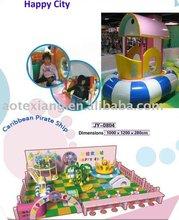 new designed indoor playground equipment- Caribbean Pirate Ship