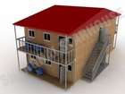 office building steel prefab Container house with CE,CSA&AS certificate