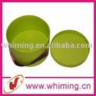 cheap design custom large round decorative paper wedding cake box wholesale