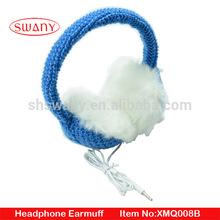 headphone knitted earmuff