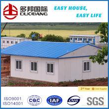 casa mobile d'acciaio chiara