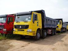 290 HP HOWO 6X4 Tipper truck / sinotruck dump truck ZZ3257M3641/MOBA