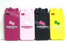 hello kitty case mobile phone bag for iphone 4g