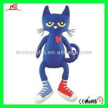 LE-D510 Pete the Cat Plush Toy Doll Cute Cat Stuffed Plush Dolls