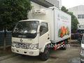 5t frigorífico van caminhão para a venda