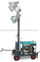 Mini type portable light tower