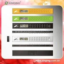 Corn Plastic Calculator 8 digits with 15cm ruler