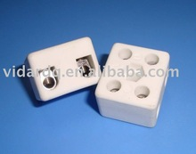 2 way 5 holes Porcelain terminal blocks