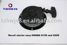 Small Gasoline generator spare part Recoil starter assy G150 and G200