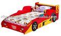 Caliente venta de madera diseños de los niños del coche cama