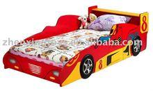Hot Sell Wooden Designs children car bed